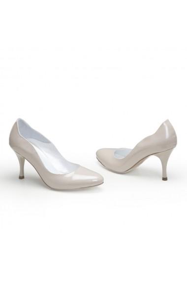 Pantofi cu toc Veronesse 306/124 Nude