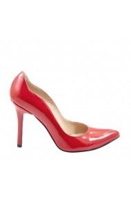 Pantofi cu toc Veronesse 306/430 Rosu