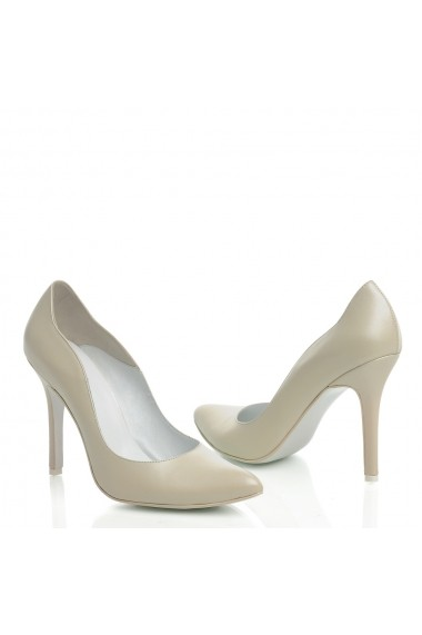 Pantofi cu toc Veronesse 306/430 Ivory