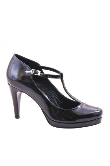 Pantofi cu toc Veronesse 402/011 Negru