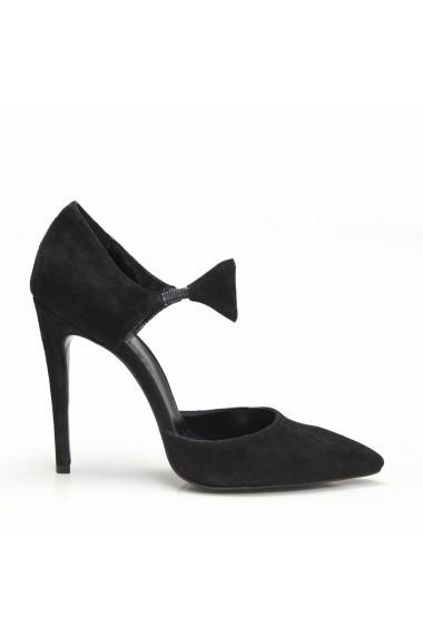 Pantofi cu toc Veronesse 50/413 Negru
