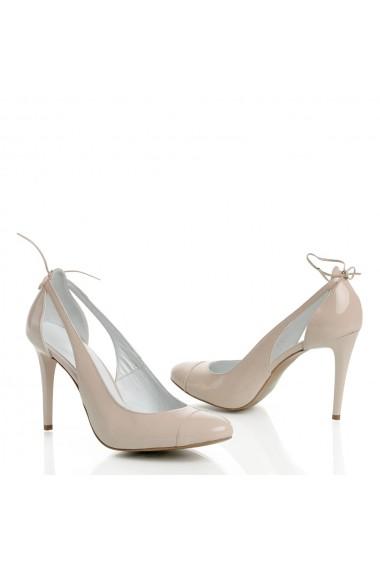 Pantofi cu toc Veronesse 310/306 Nude