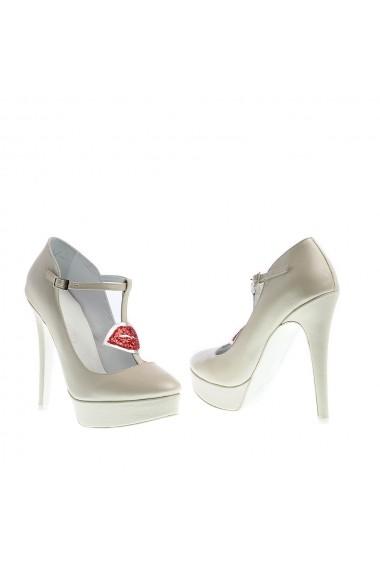 Pantofi cu toc Veronesse Kiss Ivory