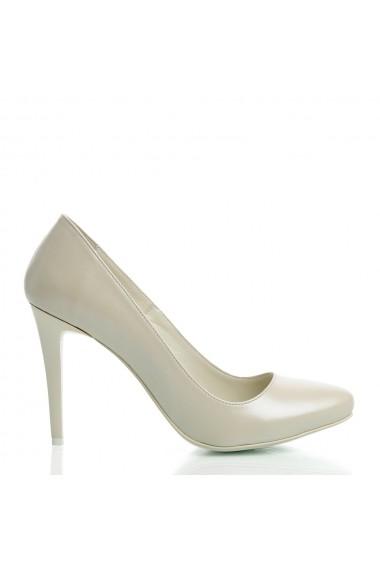 Pantofi cu toc Veronesse 336/1/306/750 Ivory