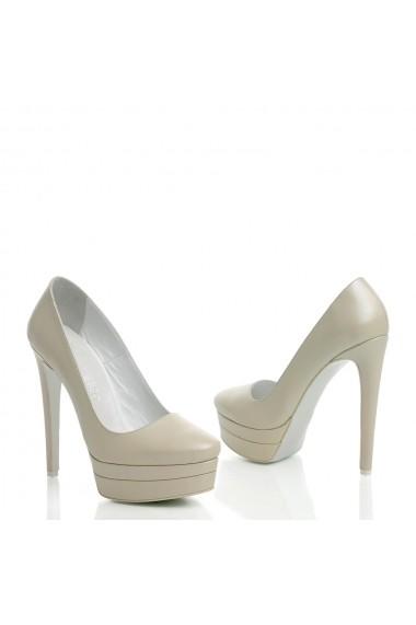 Pantofi cu toc Veronesse 336/1/750 Ivory