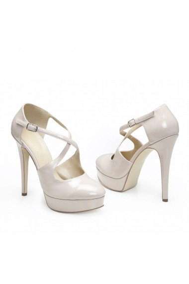 Pantofi cu toc Veronesse 778/641/1 Nude