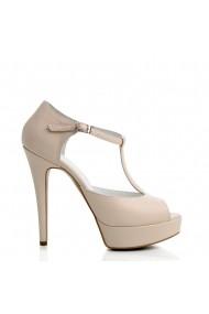 Sandale cu toc Veronesse Florance/641 Nude