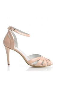 Sandale cu toc Veronesse Aderyn/306 Nude