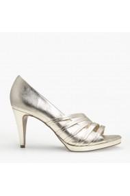 Sandale cu toc Veronesse 785/011 Auriu