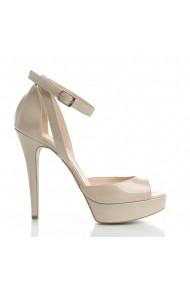 Sandale cu toc Veronesse 309/641 Nude