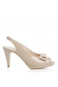 Sandale cu toc Veronesse 788/011 Nude
