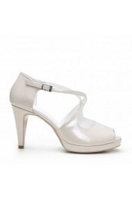 Sandale cu toc Veronesse 778/011 Nude
