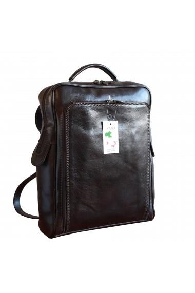 Rucsac laptop din piele naturala, BR106B