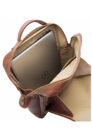 Rucsac laptop din piele naturala, BR106C