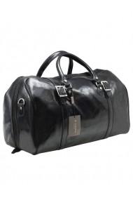 Geanta voiaj dama din piele naturala, bagaj de mana avion, BGV117