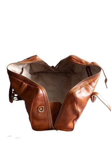 Geanta voiaj dama din piele naturala, bagaj de mana avion, DGV112C