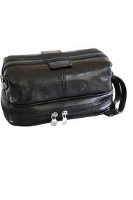 Portfard, trusa cosmetice, necessaire, geanta cosmetice din piele naturala, BV120