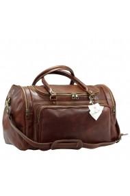 Geanta voiaj din piele naturala vachetta, bagaj de mana avion, BGV103A