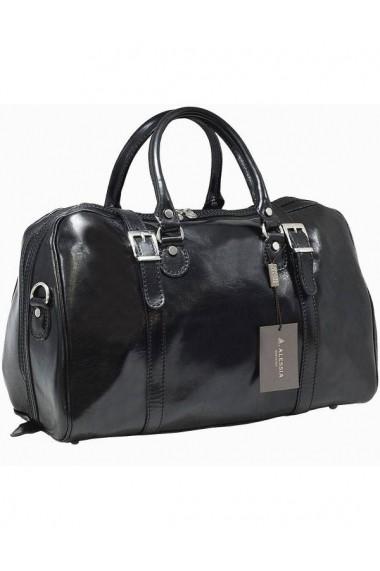 Geanta voiaj din piele naturala, bagaj de mana avion, BGV112