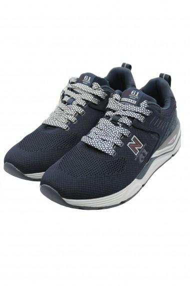 Pantofi sport Thunder Flyknit bleumarin din material textil