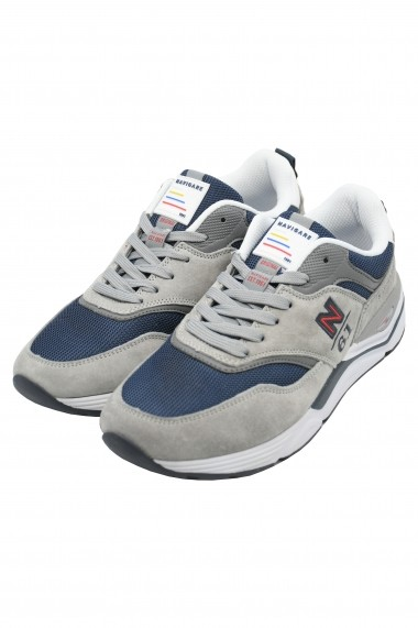 Pantofi sport barbati Zip gri ciment