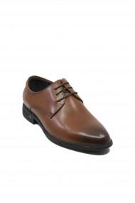 Pantofi eleganti Eldemas maro din piele naturala