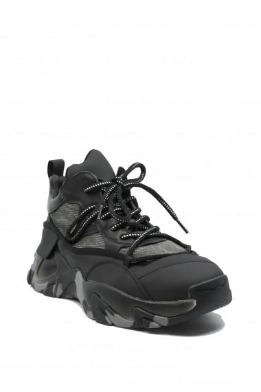 Pantofi sport barbati Franco Gerardo din material textil cu siret decorativ