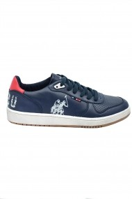 Pantofi sport bleumarin barbati din piele naturala U.S. POLO ASSN.