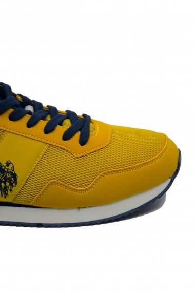 Pantofi sport galbeni barbati U.S. POLO ASSN.