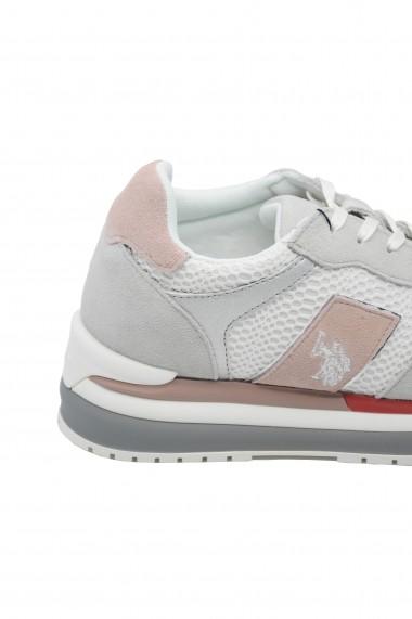 Pantofi sport Amy albi US POLO ASSN