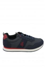 Pantofi sport barbati bleumarin cu rosu U.S. POLO ASSN.
