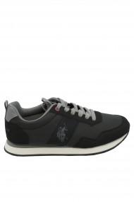 Pantofi sport barbati negru cu gri U.S. POLO ASSN.