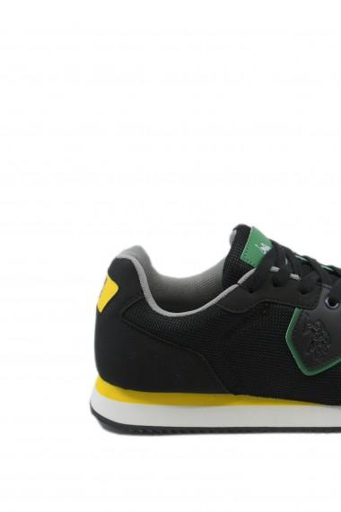 Pantofi sport barbati negri Nobil by US POLO ASSN