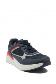 Pantofi sport barbati bleumarin din material textil Sun by US POLO ASSN