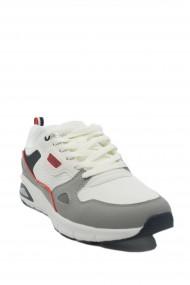 Pantofi sport albi barbati din material textil Venus by US POLO ASSN