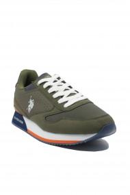 Pantofi sport kaki barbati Nobil by US POLO ASSN