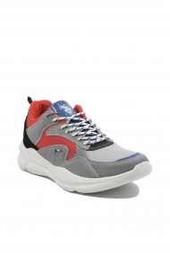 Pantofi sport Arvan gri+rosu U.S. POLO ASSN