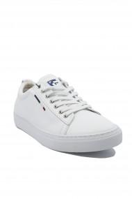 Pantofi sport albi barbati Beker by US POLO ASSN