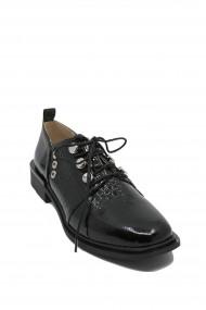 Pantofi dama Karolina negri din lac