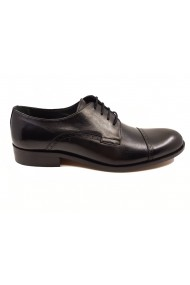 Pantofi eleganti negri din piele naturala