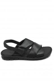 Sandale negre usoare pentru barbati