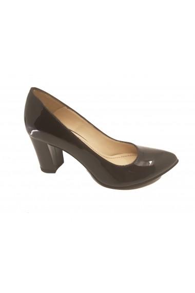 Pantofi eleganti negri din lac