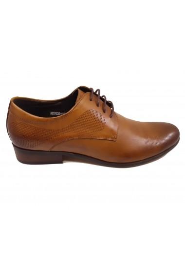 Pantofi eleganti barbati din piele naturala