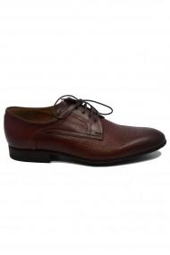 Pantofi maronii eleganti pentru barbati din piele naturala