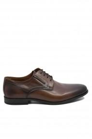 Pantofi eleganti maro pentru barbati din piele naturala