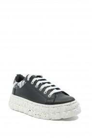 Pantofi sport dama Adell negri din piele naturala