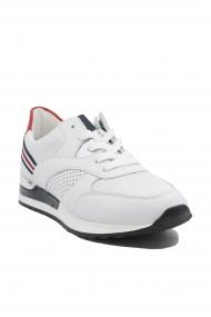 Pantofi sport dama alb clasic din piele naturala