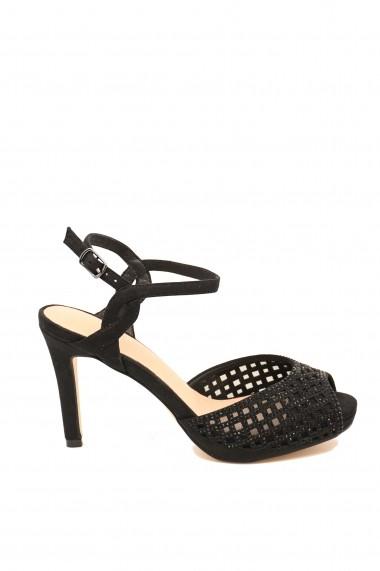 Sandale dama elegante negre