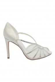 Sandale dama elegante ivory