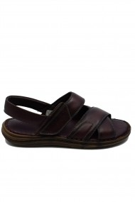Sandale barbati bordo comode din piele naturala